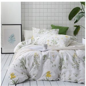 King size floral comforter set